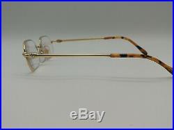 Vintage Cartier Paris Gold Oval Eyeglasses Frame Made In France 48/21