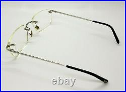 Vintage Cartier Paris Titanium Eyewear with case as shown in Pic