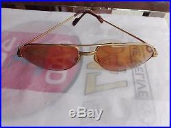 Vintage Cartier Sunglasses Vendome Santos France Size 59-16 mm 140, with Serial