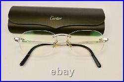Vintage Cartier Titanium Eyeglasses Authentic France