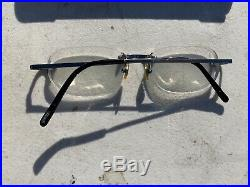 Vintage Cartier Titanium Glasses With Case! Made In France! Cartier 3242641