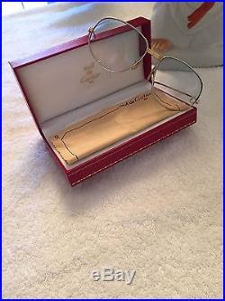 Vintage Cartier preowned men's eyeglasses