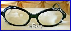 Vintage Cat Eye Glasses Made In France Pristine Condition