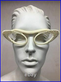 Vintage Cat Eye MADE IN FRANCE Women Glasses