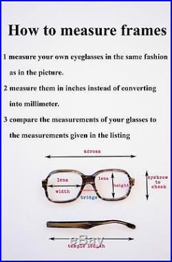 Vintage Cateye Glasses 1960s eyeglasses Made In France NOS TWE