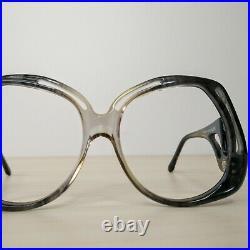Vintage DVF Diane Von Furstenberg Oversized Sunglasses Eyeglasses Frame 70s