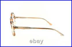 Vintage Deadstock 1970's Oversized Round Eyeglasses Frame France Leah