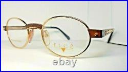 Vintage ELCE eyeglasses Bois Exotique 7 Wood Rare N. O. S Made in France