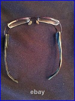 Vintage Eyeglasses See 7548 Purple Hand Made In France Designer