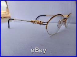 Vintage FRED FEROE Eyeglasses France OBO, Men, 130 GOLD Plated Very RARE 205575