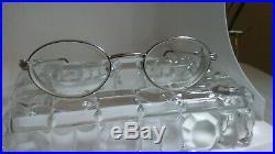Vintage FRED Ketch Platinum Color Eyeglass Frames Made In France 47-18-130 mm