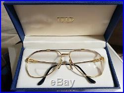 Vintage FRED LUNETTES Model Cap Horn 140 Frames Sunglasses 62X14X140