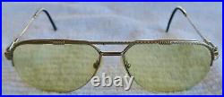 Vintage FRED Lunettes Cap Nord Paris EYEGLASSES 140 Made in FRANCE, Tinted