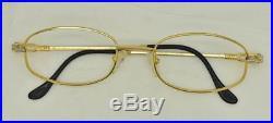 Vintage FRED Seychelles Eyeglasses Sunglasses Lunettes Gold Silver Plated Frame