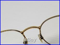 Vintage Fred Lunettes Ouragan eye glasses 53mm 21mm 140mm