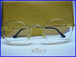 Vintage Fred grand largue Lunettes eyeglasses sunglasses 50/22 France rare used