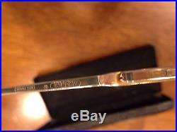 Vintage Gold Mens Monsieur Eyeglasses Frames Daniel 22k Gold Fill Made in France