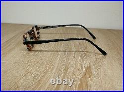 Vintage IDC Optical 979 907 Steampunk Eyeglasses Frame Made In France