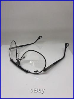 Vintage Jean Claude Killy 470 Aviator Eyeglasses M. 470 Palladium 106 & Rhodium