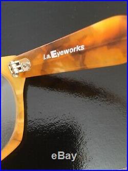 Vintage L. A. EYEWORKS HARLEY 671 M Eyeglasses Frame, FRANCE