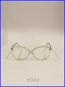 Vintage L. Evard jewelEyeglasses Made In FRANCE
