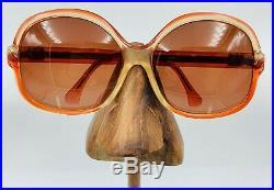 Vintage Lanvin SLB7 Red Translucent Butterfly Sunglasses Eyeglasses France