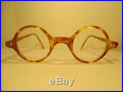 Vintage Le Club Actif France 80er Jahre Damen Brille Hornbrille / Nickelbrille