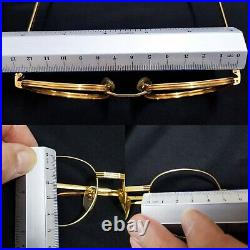 Vintage Loris Azzaro intense frames Eyeglasses panto frame round eyewear France