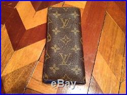 Vintage Louis Vuitton Eye Glasses case C. 1972