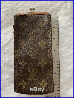 Vintage Louis Vuitton Monogram Eyeglass Case