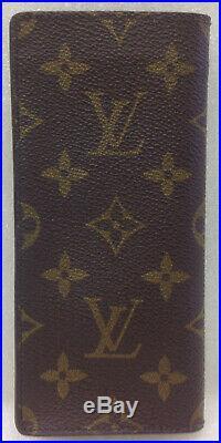 Vintage Louis Vuitton Monogram Simple Eyeglass Soft Case