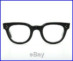 Vintage MID Century Horn Rim Fdr 46-26 Eyeglass Frames Art Deco Made In France