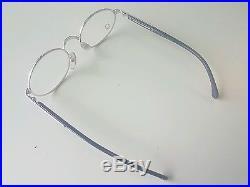 Vintage MONT BLANC Meisterstuck Eyeglasses Frame SILVER/BLACK Mod. 310128 NOS