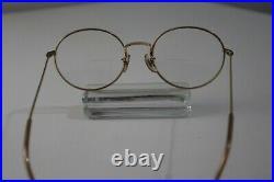 Vintage MOREL Eyeglasses Frame Glasses 14K Gold Filled Made in France