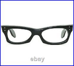 Vintage Mid Century Modernist Mask France 48-20 Horn Rim Eyeglass Faosa Style