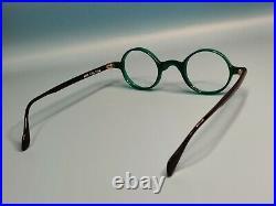 Vintage Mikli Par Mikli 6035 Green Acetate Eyeglasses Frame Made In France #921