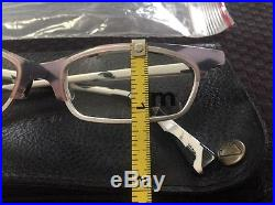 Vintage Mikli Par Mikli Black & White Eyeglasses M0131 Col 02 Made In France