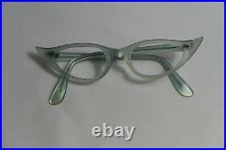Vintage NEW OLD STOCK 60s Cat Eye A. S. TANG Eyeglasses Frame France 42-20-130