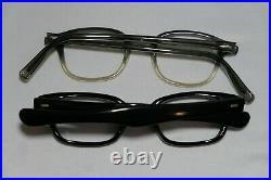 Vintage NEW OLD STOCK 60s Horn Rim & Round Eyeglasses Frame France lot (6)