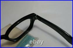 Vintage NOS 60s Horn Rim Style Frames Eyeglasses FRAME FRANCE 48-22-140 THICK