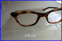 Vintage NOS Horn Rim Tortoise Shell 50s 60s Frame France Eyeglass Frame 46/22