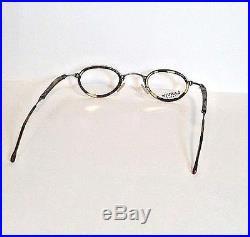 Vintage NOS Lanvin Paris Model 1221 003 Oval Tortoise Eyeglasses Frames France