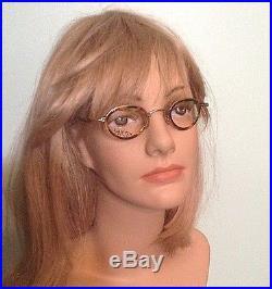 Vintage New Lanvin Paris Model 1221 003 Oval Tortoise Eyeglasses Frames France