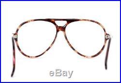 Vintage Ralph Lauren Polo-s-2 France Oversized Aviator Eye Glasses Frame Rare