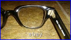 Vintage Rare 60s Clear Frame France Winston ORA Eyeglasses Cat Eye Glasses
