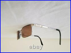 Vintage Rare Cartier Santos Semi Rimless Reading Glasses Eyeglasses CT01690