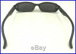 Vintage Rare Givenchy 2510 005 Black Metal Oval Eyeglasses Sunglasses France