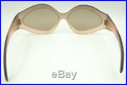 Vintage Rare Light Pink Oversized Oval Lips Eyeglasses Sunglasses Frames France