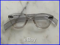 Vintage Rare Panto Thick Acetate Eyeglasses Frame 1950s Made in France