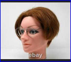 Vintage Round Metal Panto 1950 French France Eye Glasses Lunettes Eyeglasses